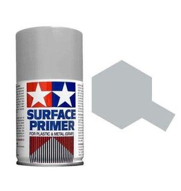 Tamiya Tamiya Surface Primer Spray for Plastic & Metal (Grey) 100ml