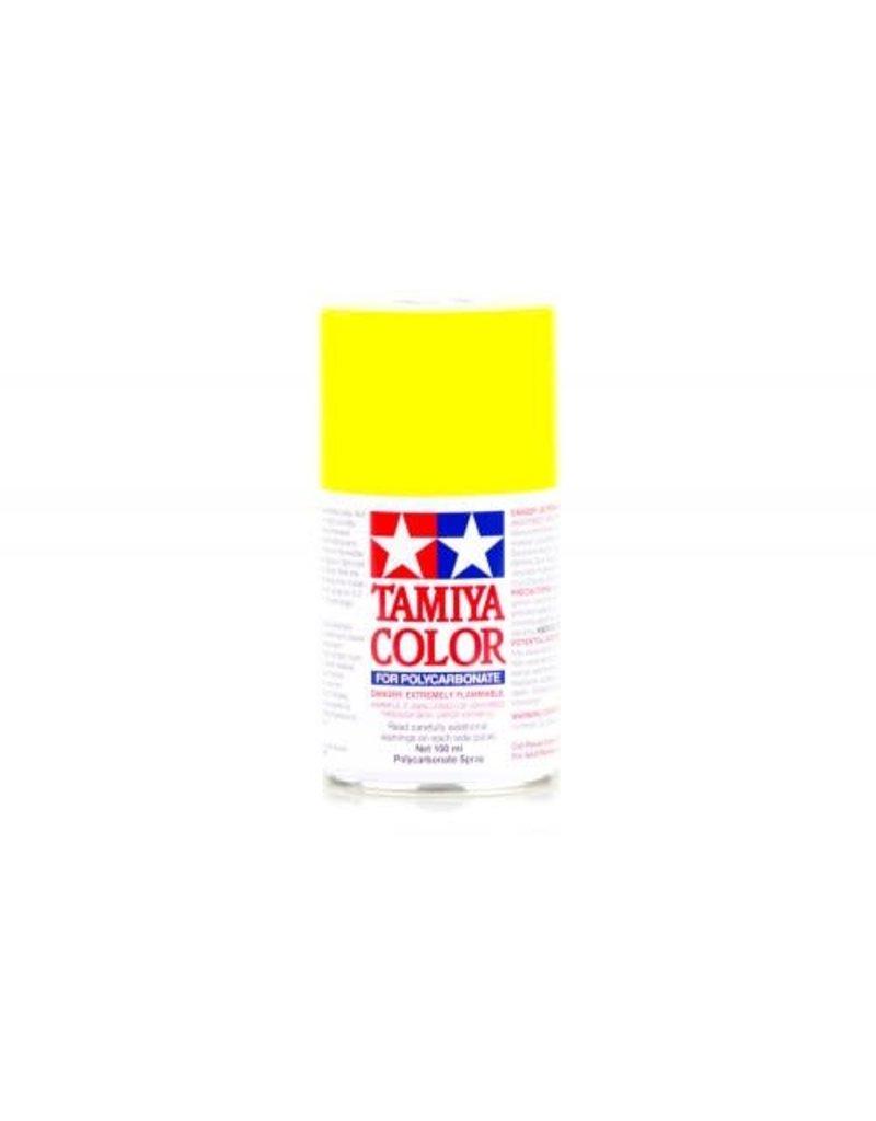 Tamiya PS-6 Yellow Polycarbanate Spray Paint 100ml