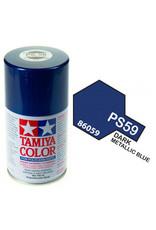 Tamiya PS-59 Dark Metalic Blue Polycarbanate Spray Paint 100m