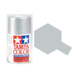 Tamiya PS-41 Bright Silver Polycarbanate Spray Paint 100ml