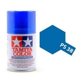Tamiya PS-38 Translucent Blue Polycarbanate Spray Paint 100ml