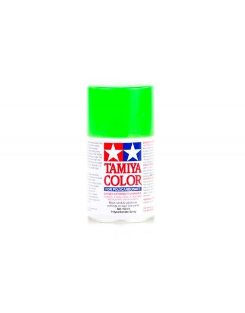 Tamiya PS-28 Fluorescent Green Polycarbanate Spray Paint 100m