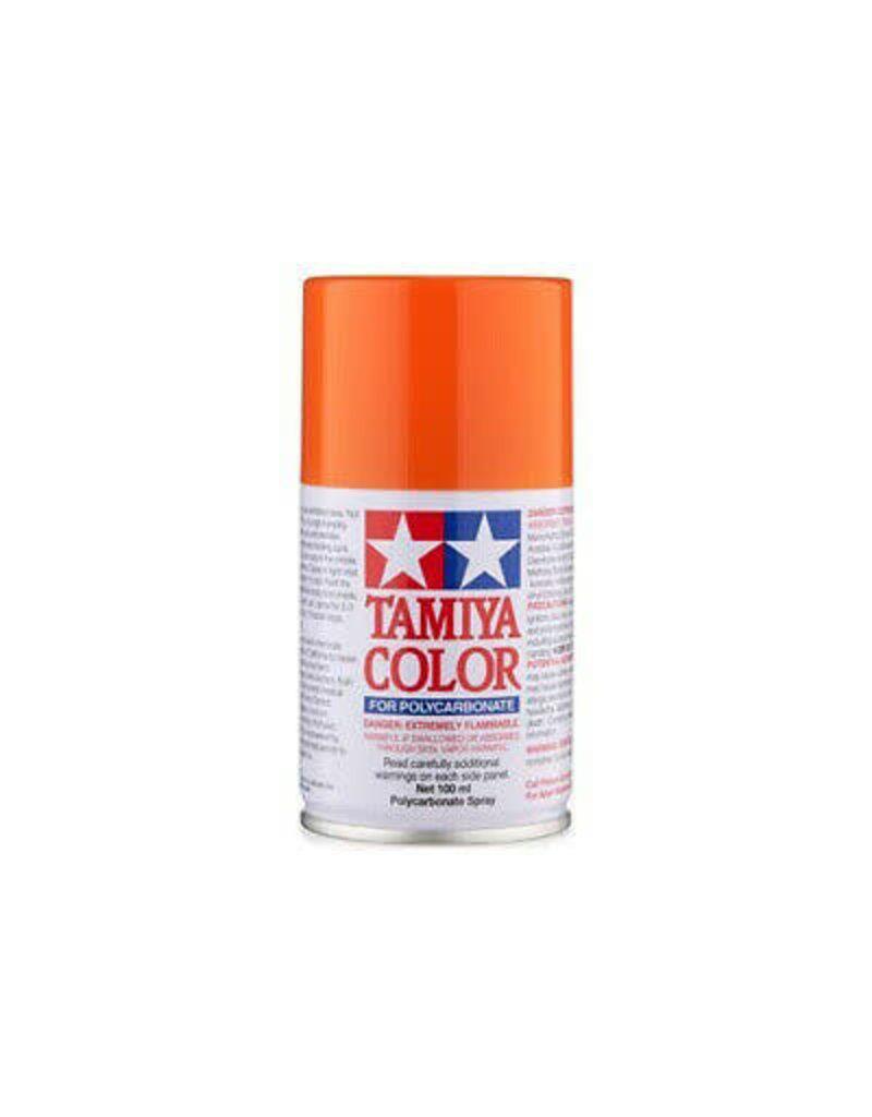 Tamiya PS-24 Fluorescent Orange Polycarbanate Spray Paint 100ml