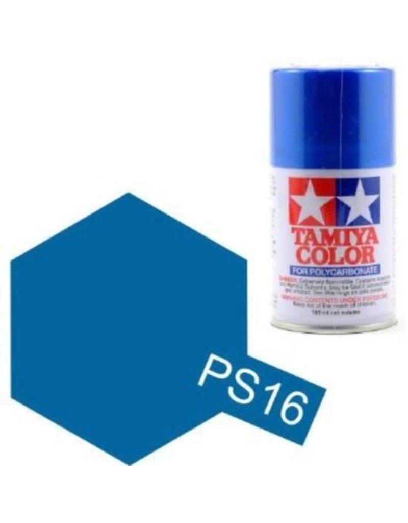 Tamiya PS-16 Metalic Blue Polycarbanate Spray Paint 100ml