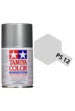 Tamiya PS-12 Silver Polycarbanate Spray Paint 100ml