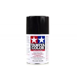 Tamiya TS-6 Matte Black Lacquer Spray Paint 100ml