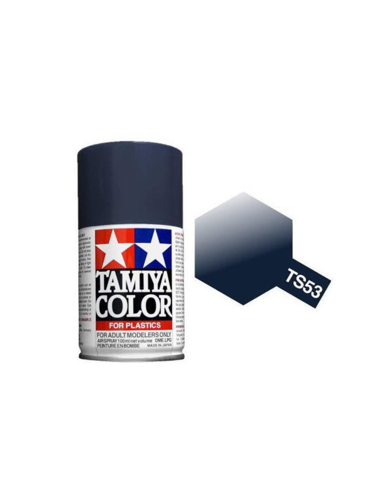 Tamiya TS-53 Deep Metallic Blue Lacquer Spray Paint 100ml