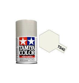 Tamiya TS-45 Pearl White Lacquer Spray Paint 100ml