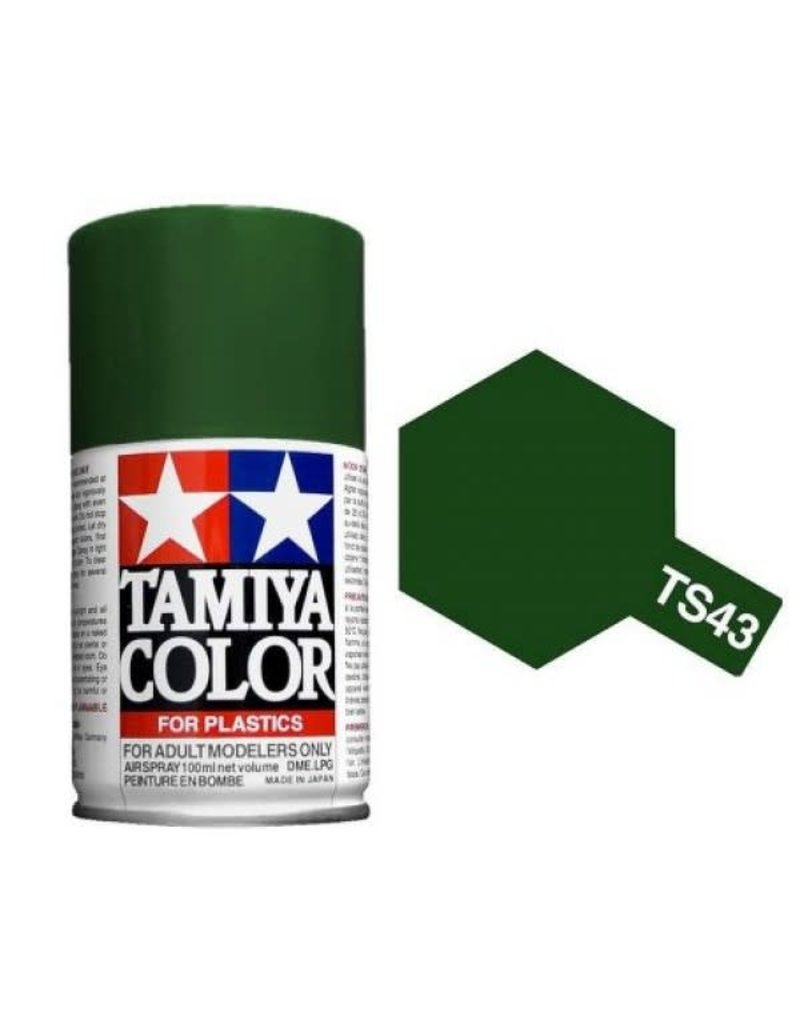 Tamiya TS-43 Racing Green Lacquer Spray Paint 100ml