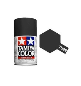 Tamiya TS-29 Semi-Gloss Black Lacquer Spray Paint 100ml