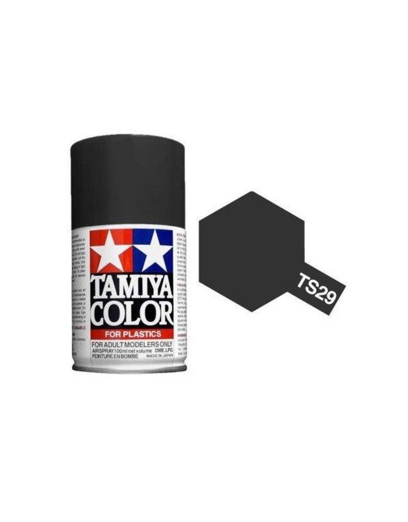 Tamiya TS-29 Semi-Gloss Black Lacquer Spray Paint 100ml