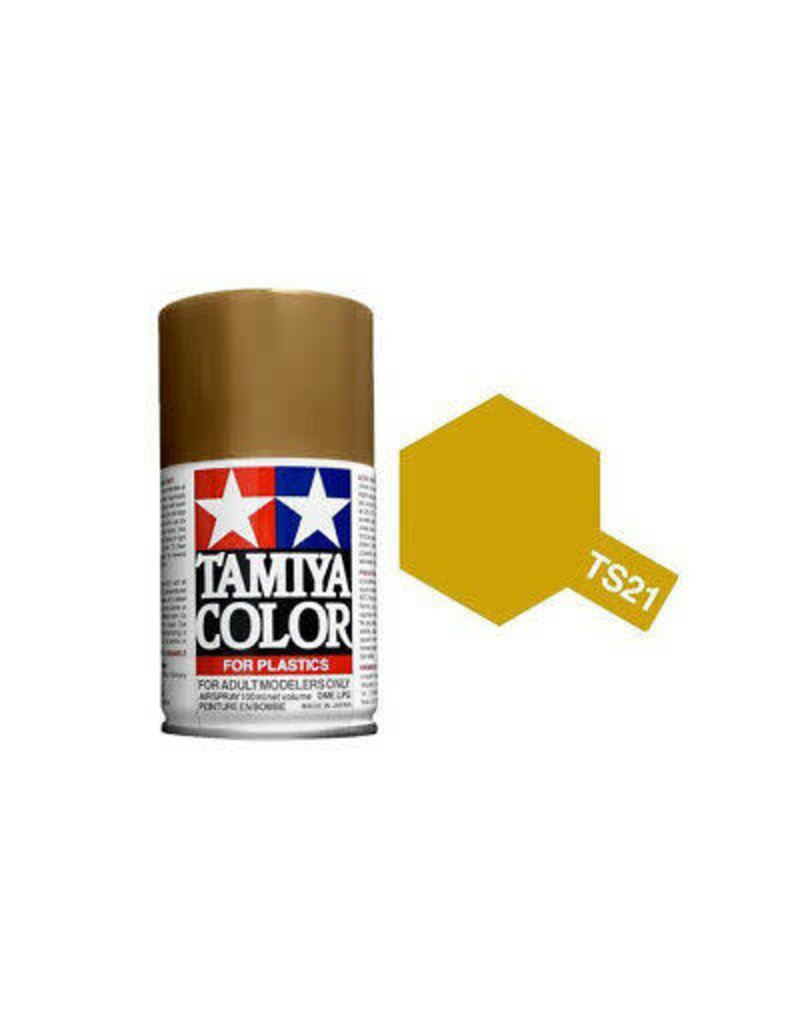 Tamiya TS-21 Gold Lacquer Spray Paint 100ml