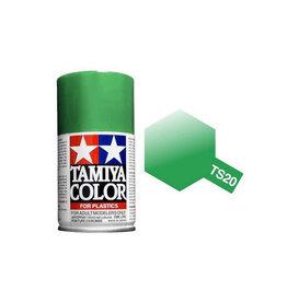 Tamiya TS-20 Metallic Green Lacquer Spray Paint 100ml