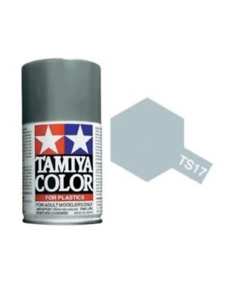 Tamiya TS-17 Gloss Aluminium Lacquer Spray Paint 100ml