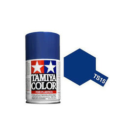 Tamiya TS-15 Blue Lacquer Spray Paint 100ml