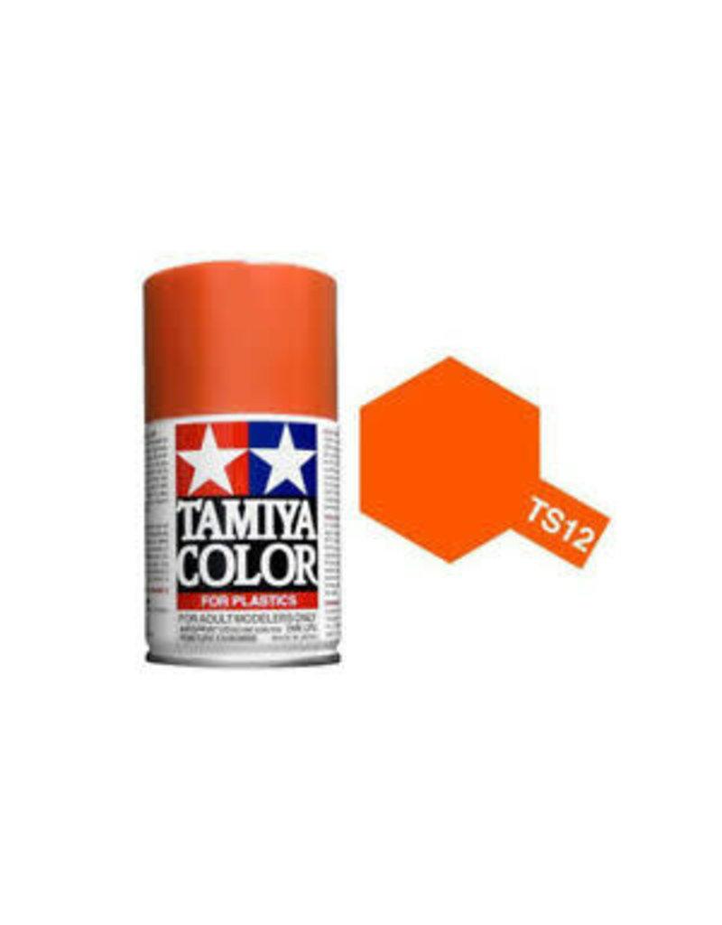 Tamiya TS-12 Orange Lacquer Spray Paint 100ml