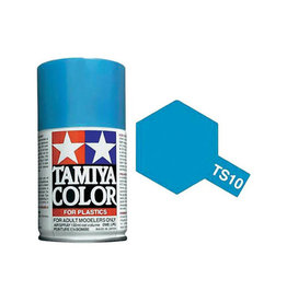 Tamiya TS-10 French Blue Lacquer Spray Paint 100ml