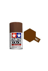 Tamiya TS-1 Red Brown Lacquer Spray Paint 100ml