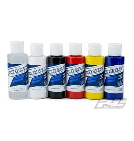 Proline PROLINE POLYCARBONATE RC BODY PAINT - PRIMARY COLOR - 6 PACK