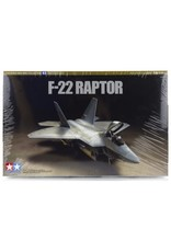 Tamiya 1/72 F-22 Raptor Jet Scaled Plastic Model Kit