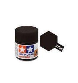 Tamiya Tamiya XF-85 Rubber Black Flat Acrylic Paint 10ml
