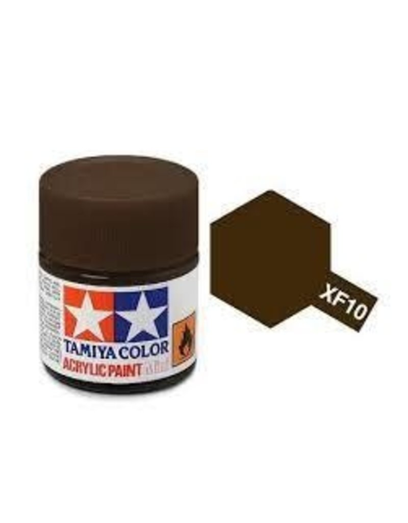 Tamiya Tamiya XF-10 Flat Brown Flat Acrylic Paint 10ml