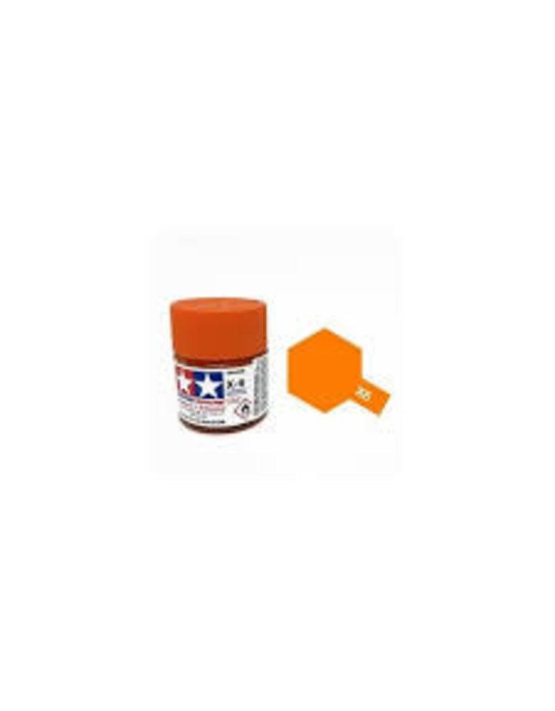 Tamiya Tamiya X-6 Orange Gloss Acrylic Paint 10ml