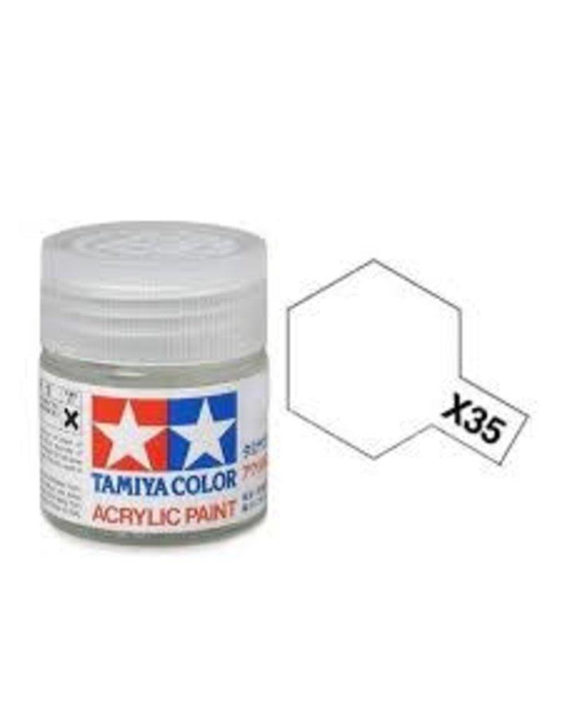 Tamiya Tamiya X-35 Semi-Gloss Clear Gloss Acrylic Paint 10ml