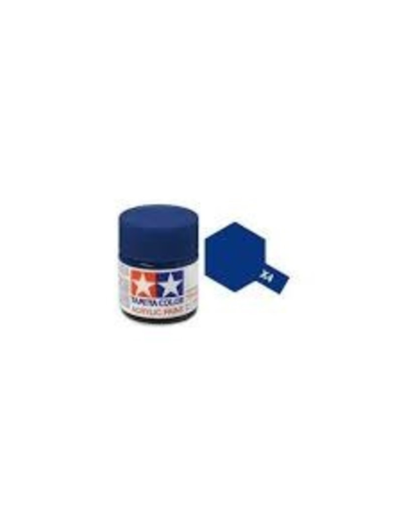 Tamiya Tamiya X-4 Blue Gloss Acrylic Paint 10ml
