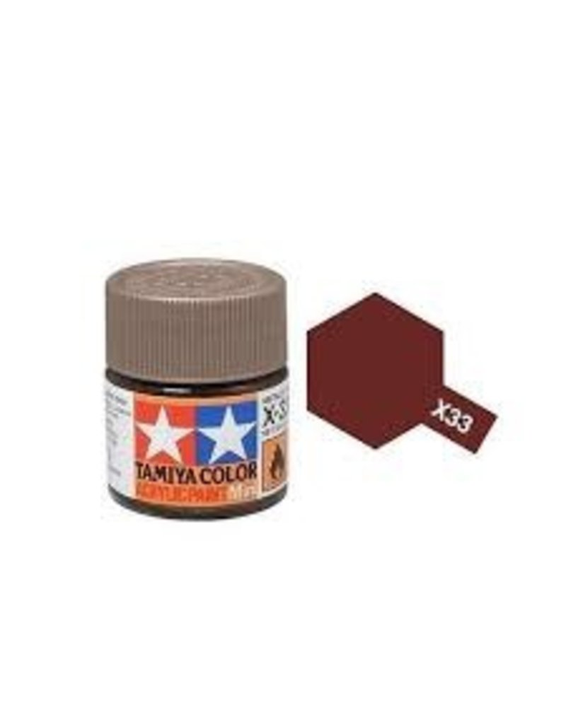 Tamiya Tamiya X-33 Bronze Gloss Acrylic Paint 10ml