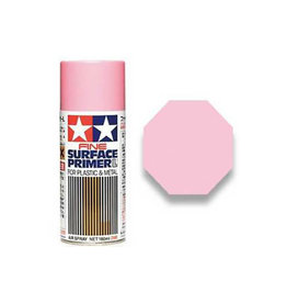Tamiya Pink Fine Surface Primer Large Spray for Plastic & Metal 180m