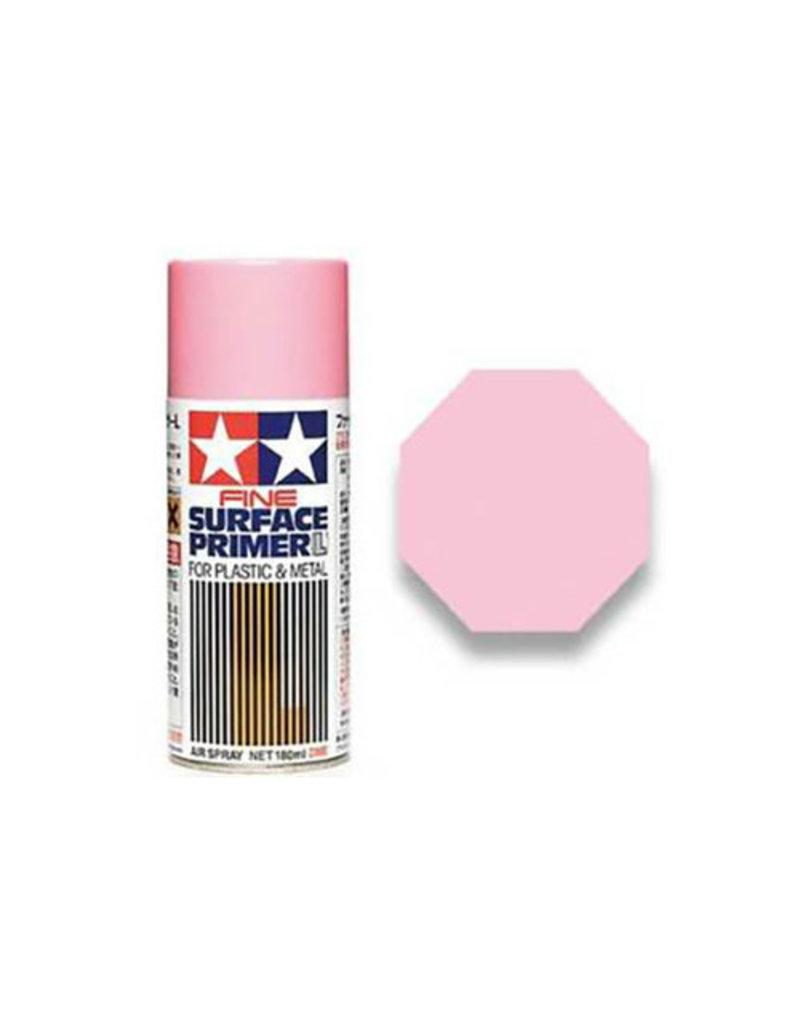 Tamiya Pink Fine Surface Primer Large Spray for Plastic & Metal 180m