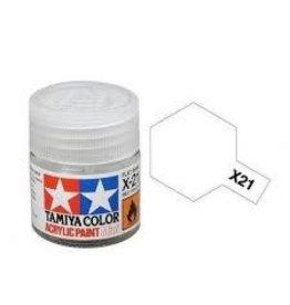 Tamiya Tamiya X-21 Flat Base Gloss Acrylic Paint 10ml