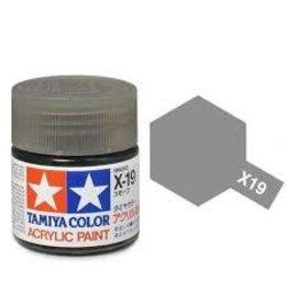 Tamiya Tamiya X-19 Smoke Gloss Acrylic Paint 10ml
