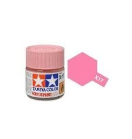 Tamiya Tamiya X-17 Pink Gloss Acrylic Paint 10ml