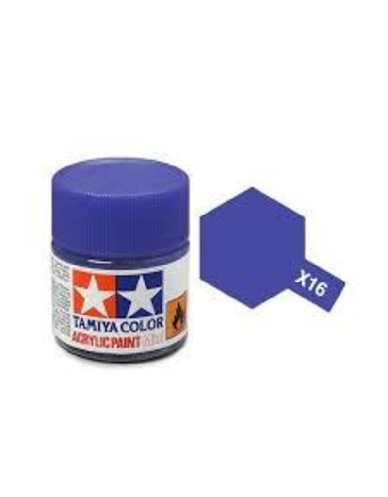 Tamiya Tamiya X-16 Purple Gloss Acrylic Paint 10ml