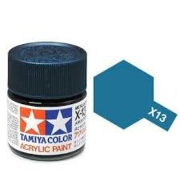 Tamiya Tamiya X-13 Metallic Blue Gloss Acrylic Paint 10ml