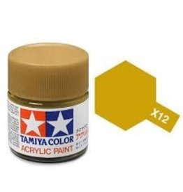 Tamiya Tamiya X-12 Gold Leaf Gloss Acrylic Paint 10ml
