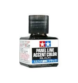 Tamiya Tamiya Black Panel Line Accent Colour Paint 40ml