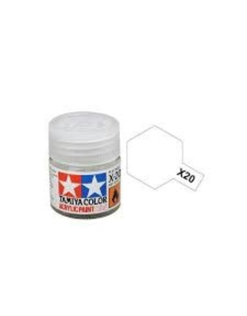 Tamiya Tamiya X-20A Acrylic Paint Thinner 10ml