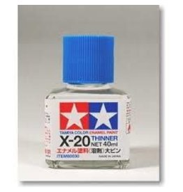 Tamiya Tamiya X-20 Enamel Paint Thinner 40ml