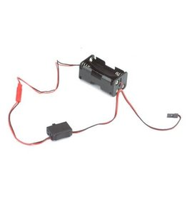 Hitec Hitec Switch Harness & Battery Box