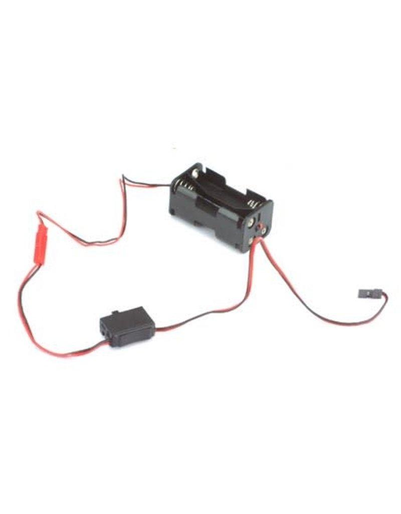 Hitec Hitec Switch Harness & Battery Box