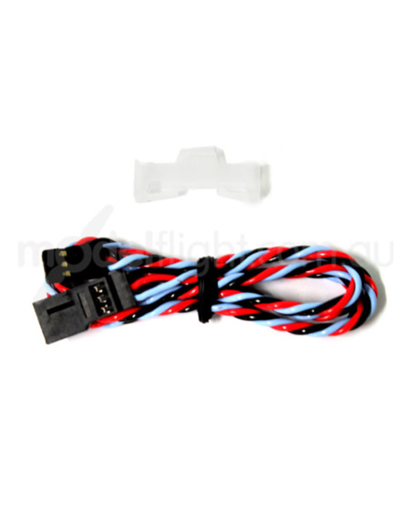 Dualsky Dualsky servo extension lead, 450mm, Heavy Duty