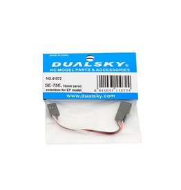 Dualsky Dualsky 75mm Light Weight Servo Extension Lead