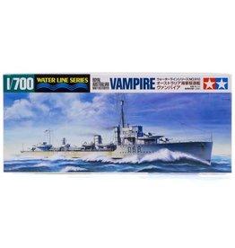 Tamiya Tamiya 1/700 Australian Vampire Navy Destroyer (Waterline Series) Plastic Model Kit