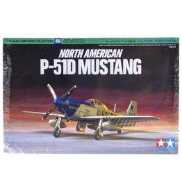 Tamiya Tamiya 1/72 North American P-51D Mustang Scaled Plastic Model Kit