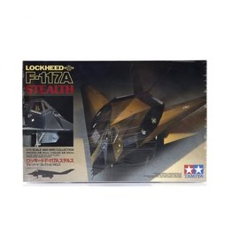 Tamiya Tamiya 1/72 Lockheed F-117A Stealth Jet Scaled Plastic Model Kit