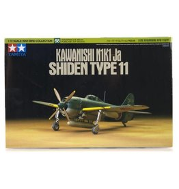 Tamiya Tamiya 1/72 Kawanishi N1K1-Ja Type 11 Shiden Fighter Scaled Plastic Model Kit