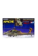 Tamiya Tamiya 60707 1/72 Hughes AH-64 Apache Helicopter Plastic Model Kit